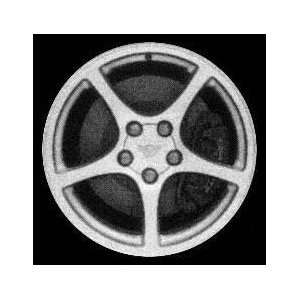 00 03 CHEVY CHEVROLET CORVETTE ALLOY WHEEL RIM 18 INCH, Diameter 18