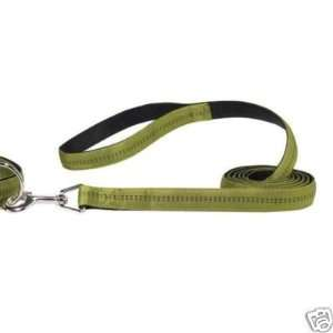 Zack & Zoey Padded Nylon Dog Lead OLIVE 4 x 5/8 Kitchen
