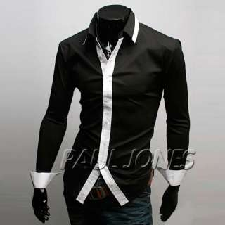 Mens Cotton Long Shirts ,Formal Dress Business wear