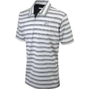 Reebok Club Stripe Polo (Mens) White/Black