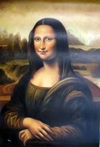 Repro new Oil Painting canvas Mona Lisa Modern 24x36