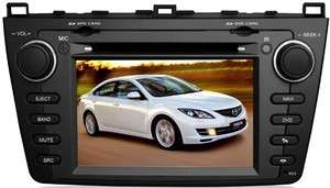Din Car DVD/GPS/3G INTERNET Player For Mazda 6 2008+ (DVB T Optional