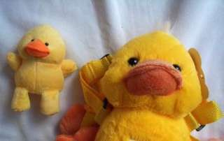 Baby Toddler Child Safety Harness & Plush Yellow Duck