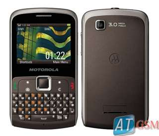 NEW Motorola EX115 Dual Sim 3MP Unlocked GSM Phone