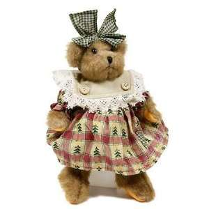 Christmas Girl Teddy Bear for Holiday Decorating