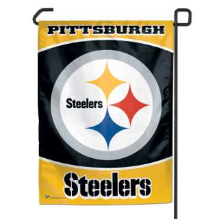 PITTSBURGH STEELERS GARDEN FLAG BANNER NFL FOOTBALL