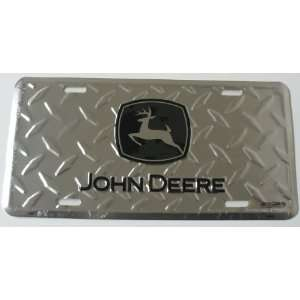 Cut 6 x 12 Embossed Aluminum License Plate