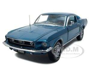1968 FORD MUSTANG GT FASTBACK AQUA 1 of 1500 124