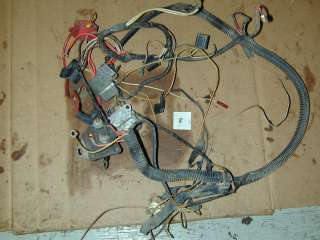 Cadet 1604 Garden Tractor Riding Lawn Mower   Wiring Harness