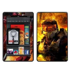 Kindle Fire Skins Kit   Halo Master Chief #1 reach