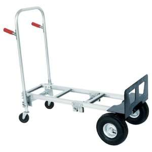 Aluminum Convertible Hand Truck with Dual Loop Handle, 500 lbs Load