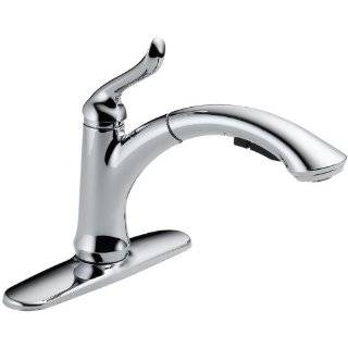 Delta 3353 DST Linden Single Handle Kitchen Faucet with