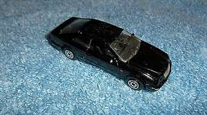 WELLY #2037 BLACK MERCEDES BENZ CLK DIECAST CAR