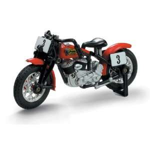NewRay 1/32 Die Cast Motorcycle Indian 1947 Sport Scout