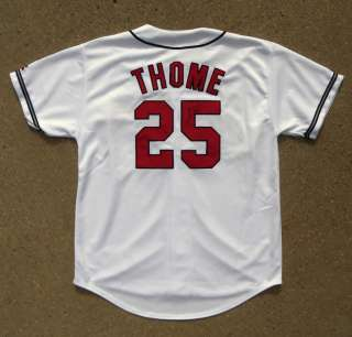 #25 JIM THOME Signed Autographed Authentic Jersey COA PROOF