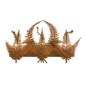 Meyda Tiffany 23736 Rust Tropical / Safari Three Light Up Lighting