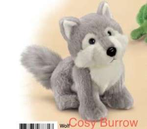 RUSS Wolf Dog Soft Plush Toy Makes Howling Sound Sml