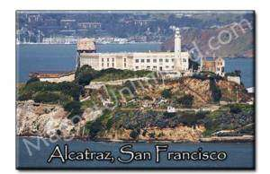 Alcatraz   San Francisco Souvenir Fridge Magnet #1