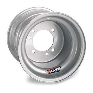 AMS Steel Replacement Wheels Spun/Stamped Silver Sports