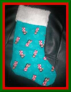 Handmade Christmas Stocking ~ Disney Lilo and Stitch