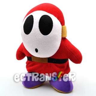 10 Super Mario Bros Shy Guy Plush Toy/MX649