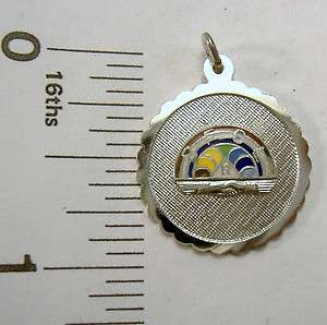 Griffith Sterling Silver Rainbow for Girls logo symbol engravable