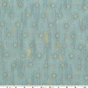 45 Wide Halfway Cafe Dots Teal Fabric By The Yard Arts