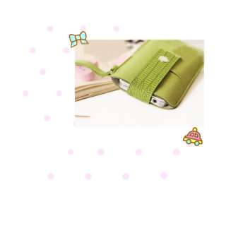 Novel Mobile Phone Bag Card Holder Purse Wallet Pouch 1pc
