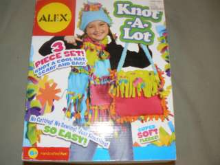 Knot A Lot Craft Kit by ALEX Brand New Great Educational Gift Idea
