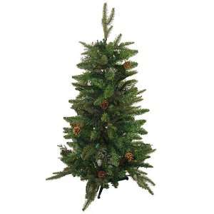 Green River Spruce Christmas Tree   Clear Lights