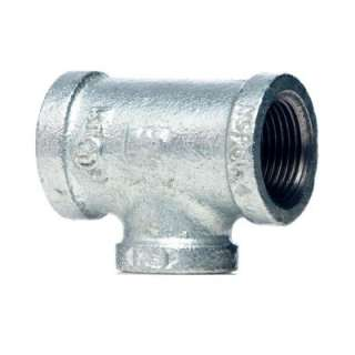 In. X 1/2 In. X 1/2 In. Galvanized Malleable Iron Reducing Tee 510