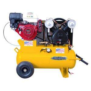 EMAX 8 HP Gas 17 Gal. Single Stage Portable With Wheels Air Compressor