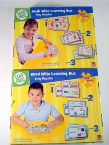 Leap Frog MATH & WORD BUS Matching Preschool Teacher