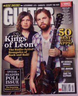 GUITAR WORLD Free CD KINGS Of LEON Feb 2011 War PIGS BS
