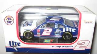 No 2 Rusty Wallace Texas Special Miller Lite Ford 1/64