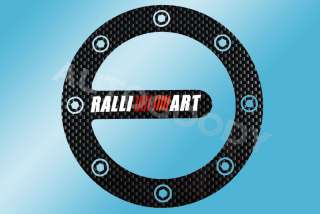 RALLIART Fuel Door Sticker Decal Eclipse Lancer