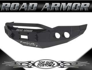 07 10 Toyota Tundra Road Armor Pre Runner Front Bumper