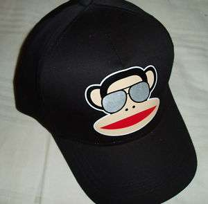 PAUL FRANK JULIUS SUNGLASSES CAP HAT BLACK CAPPELLO