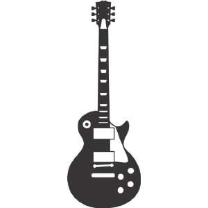 wall decal removable sticker Gibson Les Paul style