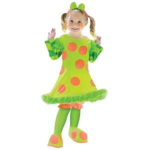 Lolli The Clown Toddler Costume, 32583