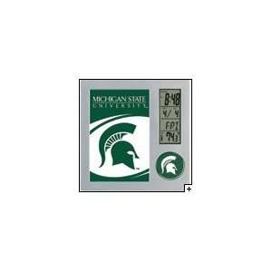 NCAA Michigan State Spartans Desk Clock *SALE*