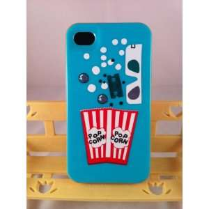 Kate Spade iphone 4 Case   Pop Corn + FAST SHIPPING Cell