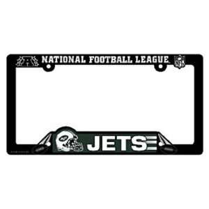 New York Jets Nfl Plastic License Plate Frame Wincraft