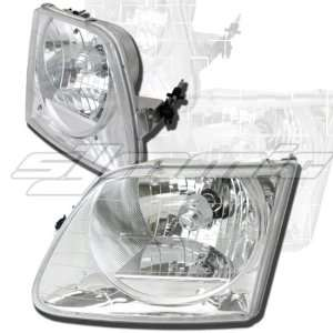 Ford Expedition Headlights Diamond Clear Headlights 1997