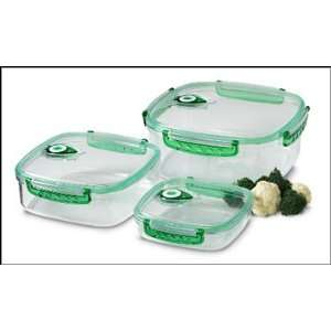 Set, Vacuum Food Storage Containers