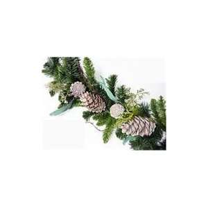Eucalyptus Cedar Pine Artificial Christmas Garlands wi