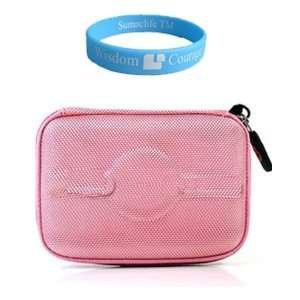 Nylon Pink Waterproof and Scratch resistant Case for Garmin