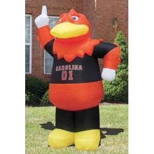 NCAA South Carolina Gamecocks Cocky Inflatable Outdoor Yard Decoration