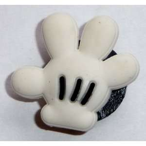 GLOVES of Mickey Mouse Disney JIBBITZ Crocs Hole Bracelet Shoe Charm