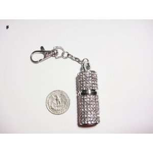 4gb Crystal Lipstick Case Keychain Usb Flash Drive